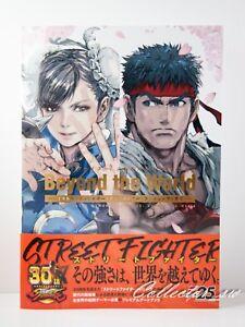 3-7 DaysStreet Fighter Memorial Archive Beyond the World Art Book from JP