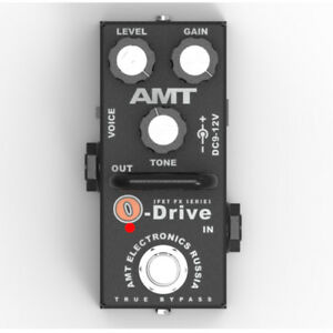 AMT-Electronics-O-Drive-MINI-OD-2-JFET-distortion-pedal-emulates-Orange-TT