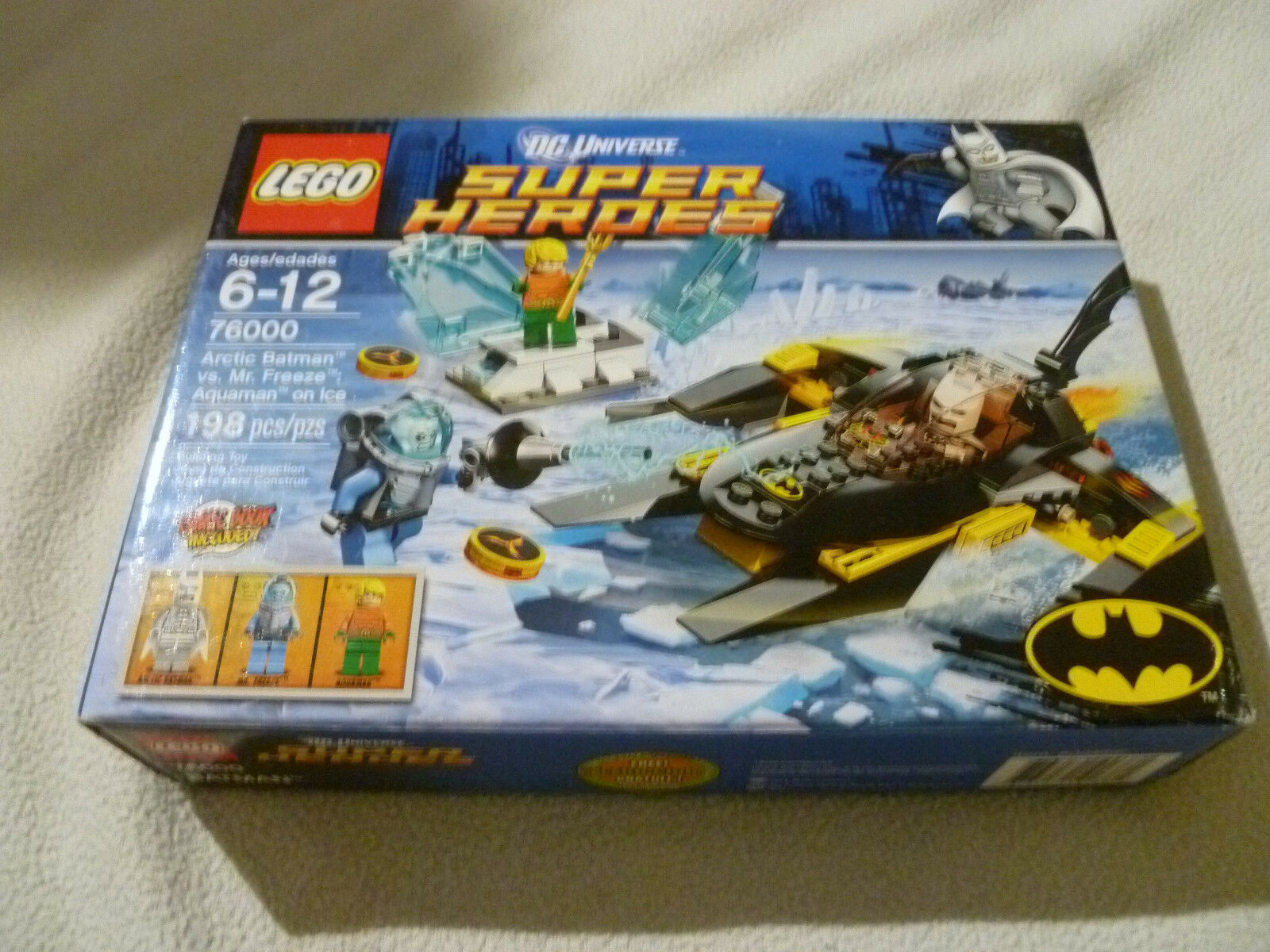 NEW LEGO DC UNIVERSE SUPER HEROES 76000 ARCTIC BATMAN VS MR FREEZE AQUAMAN ICE >