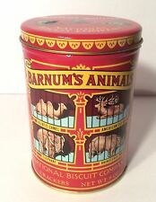 1979 NABISCO BARNUM'S ANIMAL COOKIES CRACKERS NATIONAL BISQUIT TIN CANISTER