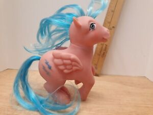 Vintage-1983-Hasbro-My-Little-Pony-G1-FIREFLY-Pegasus-Ponies-Blue-Lightning