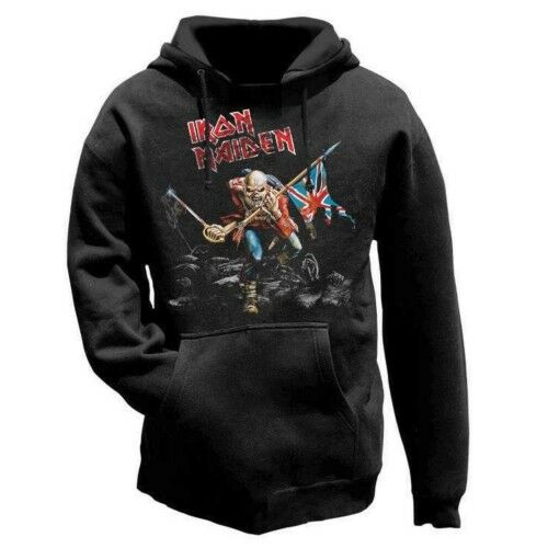 Iron Maiden 'The Trooper' Pull Over Hoodie - Neuf et Officiel