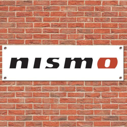 Nissan Nismo Motorsport Car Track Race Sign Garage Workshop Banner Display W