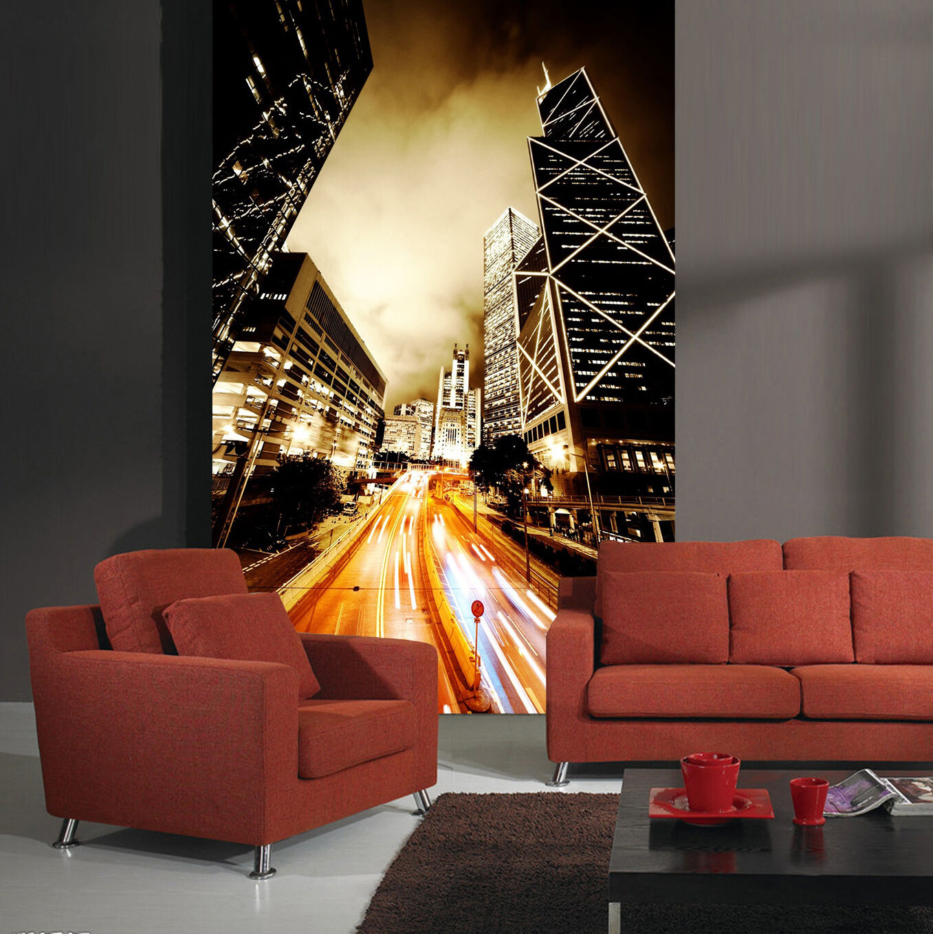 3D Street Buildings 112 WallPaper Murals Wall Print Decal Wall Deco AJ WALLPAPER
