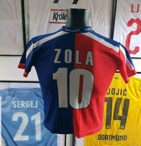 Jersey-T-Shirt-Maglia-Shirt-Cagliari-Zola-Terra-Sarda-2003-2004-2005-03-04-05