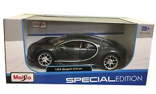 Bugatti Chiron Grey 1/24 Scale Diecast Car Model By Maisto 31514