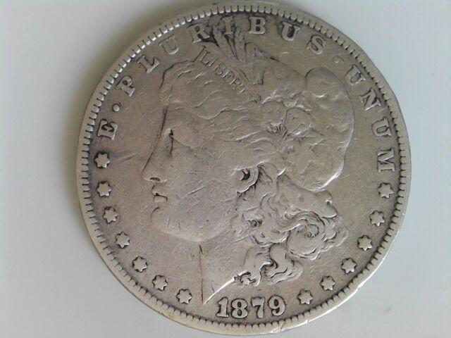 1879 $1 Morgan Silver Dollar