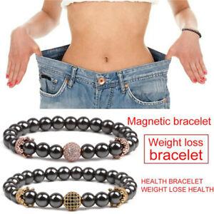 Magnetische-Abnehmen-Gesundheitswesen-Haematit-Stein-Perlen-Armband-ArmreifW-WK