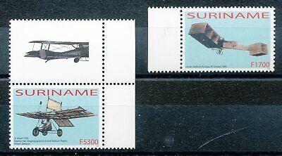 Verkehr & Transport VertrauenswüRdig 301309 Surinam Nr.1894-5** Flugzeuge Luftfahrt