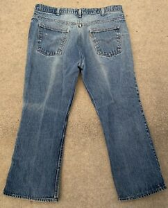 Vintage-Levi-s-646-Jeans-Orange-Tab-Flare-Leg-Bell-Bottom-42-30-Measure-40-X-27