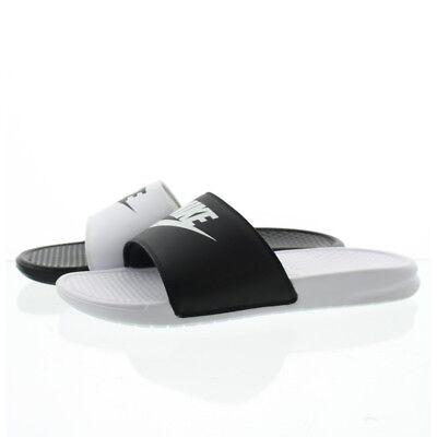 shop original best collection Nike 818736 Mens Benassi JDI Mismatch Athletic Sandals Slides Shoes | eBay