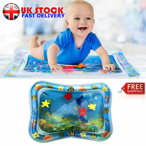 Baby Inflatable Water Play Mat Uk Infants Toddlers Fun Tummy Time