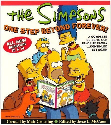1 of 1 - The Simpsons One Step Beyond Forever!: A Complet... by Groening, Matt 0007208197