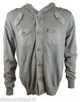 Swade Men's Hooded Sweat Top Grey (SUTP002)