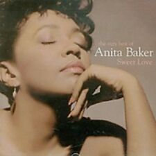 Anita Baker Sweet Love-Very Best Of CD NEW SEALED 2002 Caught Up In The Rapture+