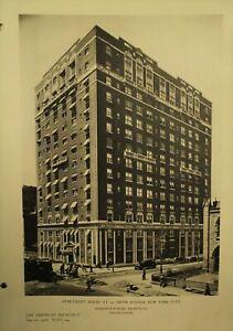 The-American-Architect-antique-vtg-old-Architecture-Arts-magazine-June-20-1926