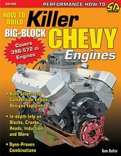 How to Build a BBC 572, 540, 496 Chevy Big Block Stroker Engine Book