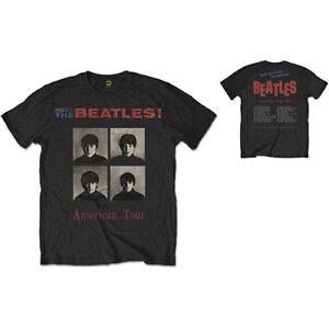 The-Beatles-American-Tour-1964-Official-Merchandise-T-Shirt-M-L-XL-Neu