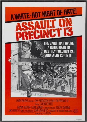 Assault On Precinct 13 Classic Vintage Large Movie Poster Art Print A0 A1 A2 A3