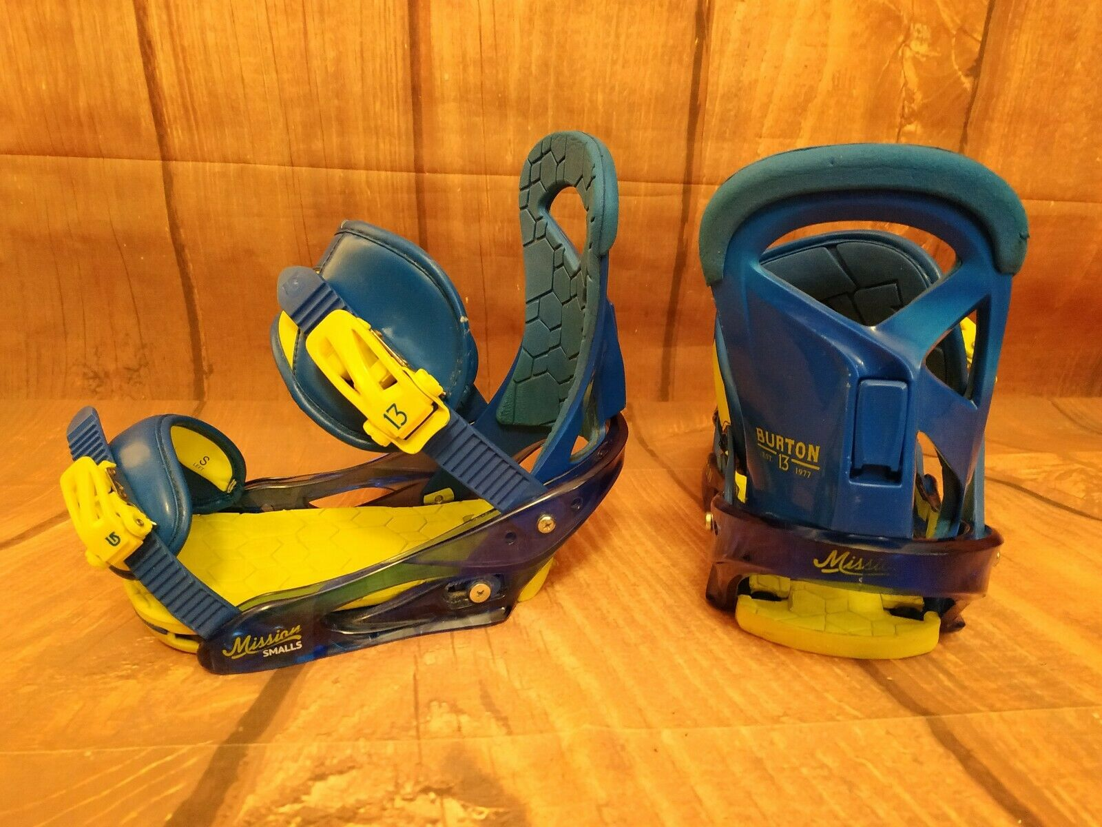 Snowboard bindings Burton Mission size S  London 795