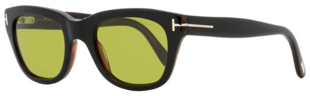 52N Sunglasses Tom Ford SNOWDON FT 0237 shiny dark havana//grey green