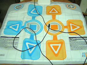 Wii Plug In Dance Mat By Bandai Namco Games Model Bc001