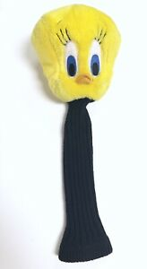 Vtg-90s-Acme-Sport-Tweety-Bird-Plush-Golf-Club-Head-Cover-1993-Warner-Bros