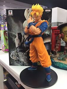 Banpresto Dragonball Super Resolution of Soldiers Future Gohan PVC Statue New
