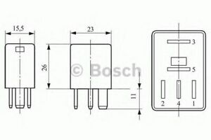 Relè Bosch 0332207304