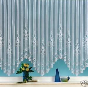 gardinen bogen store vorhang wei mit kr uselband neu typ10 ebay. Black Bedroom Furniture Sets. Home Design Ideas