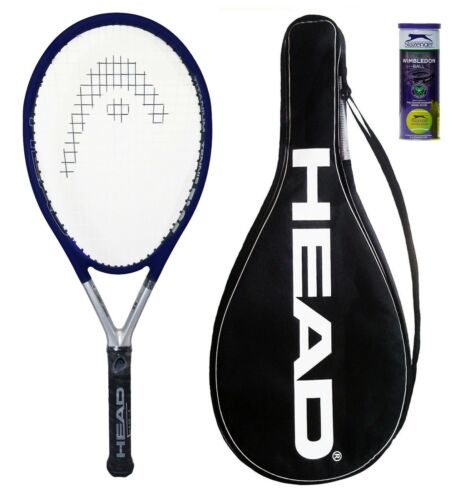 Head Ti S5 Titanium Tennis Racket 3 Tennis Balls RRP £210