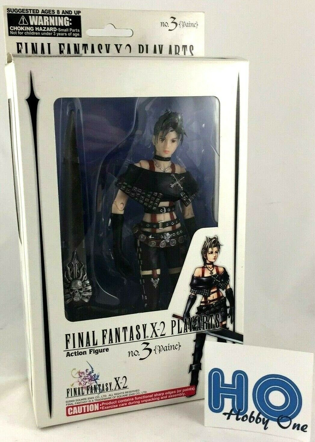 Final Fantasia X-2 - Play Arti - No. 3 Paine - Azione Figura - PVC - Ff