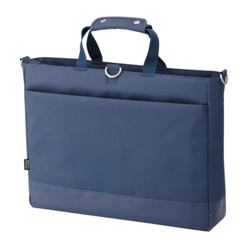 LIHIT LAB  Japan Pen Pencil School Carrying Bag in Bag A7670-11 Navy