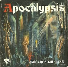 JEAN-CHRISTIAN MICHEL (Clarinnetiste)  -  DISQUE 45 T - APOCALYPSIS