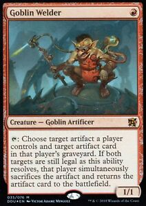 Goblin-Welder-FOIL-NM-M-Elves-vs-Inventors-Magic-MTG