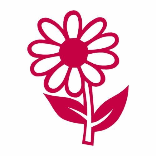 Daisy Dandelion Flower Multiple Color /& Sizes ebn840 Decal Sticker
