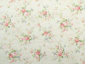 Cottage-Shabby-Chic-Quilt-Gate-RURU-Love-Rose-Love-RU2300-15A-Cream-w-Script