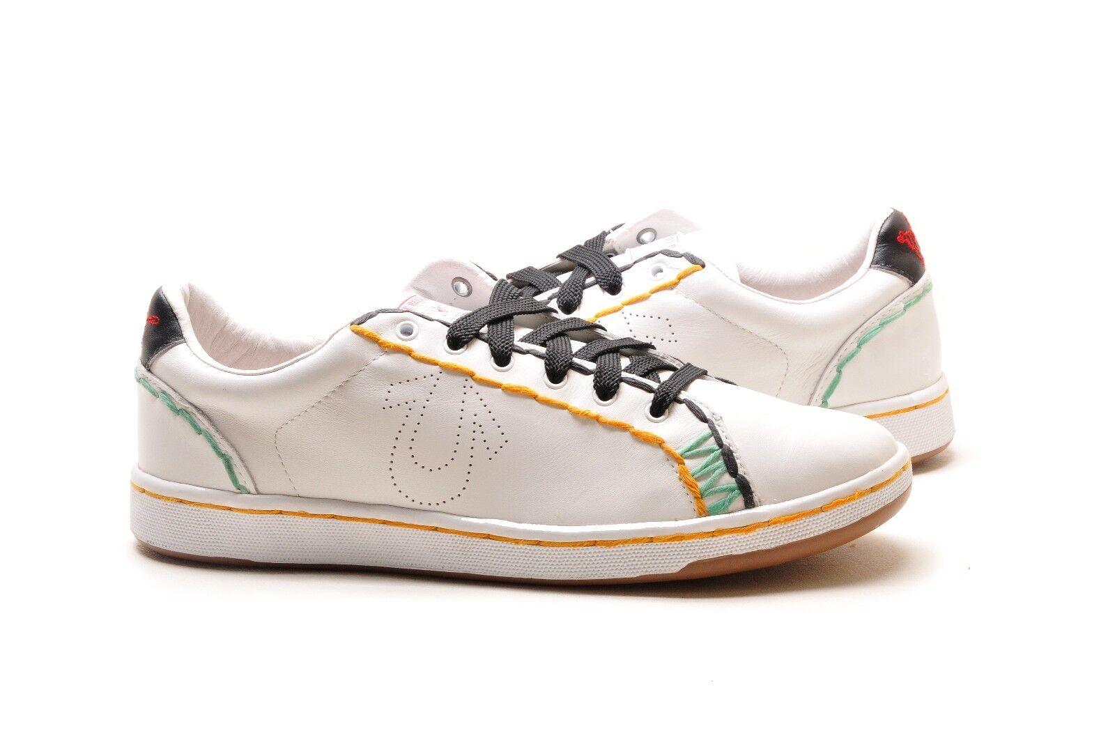 True Religion Shoes Jaden TR104102-09M White Black Green