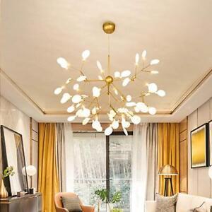Details About 54lights Sputnik Firefly Chandelier Led Pendant Lighting Ceiling Light Fixture