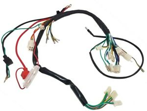 image is loading wiring-harness-50cc-110cc-two-headlight-chinese-atv-