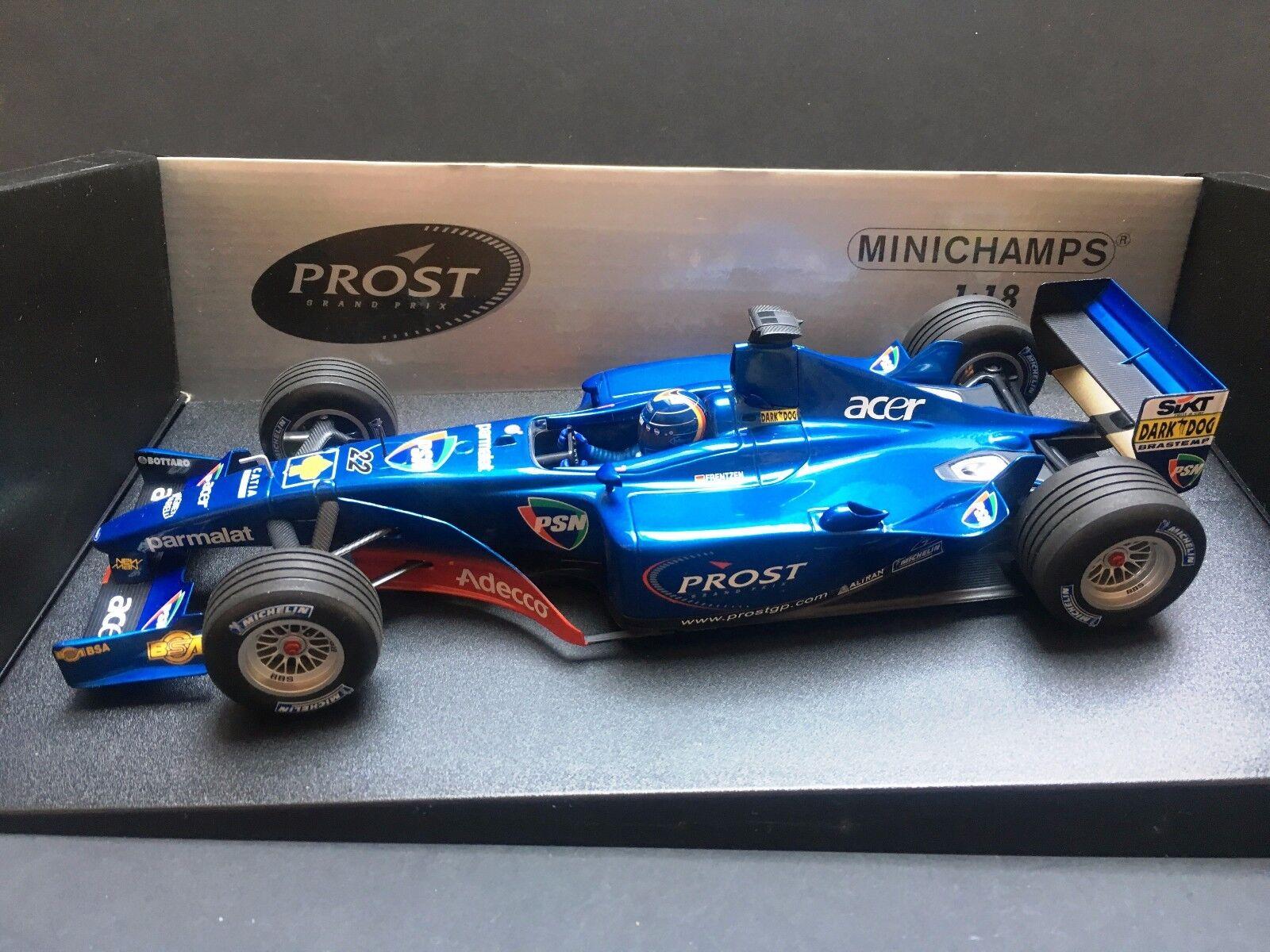 Minichamps - Heinz Harald Frentzen - Prost Acer - AP04 - 2001 - 1 18 - very rare