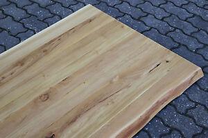 waschtisch tischplatte platte akazie massiv holz mit baumkante neu leimholz ebay. Black Bedroom Furniture Sets. Home Design Ideas