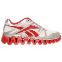 Reebok Zigtech Zig Dynamic Running Mens Red White Silver $110
