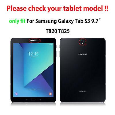 Hülle für Samsung Galaxy Tab S3 SM-T820 SM-T825 9.7 Tasche Case Cover Outdoor