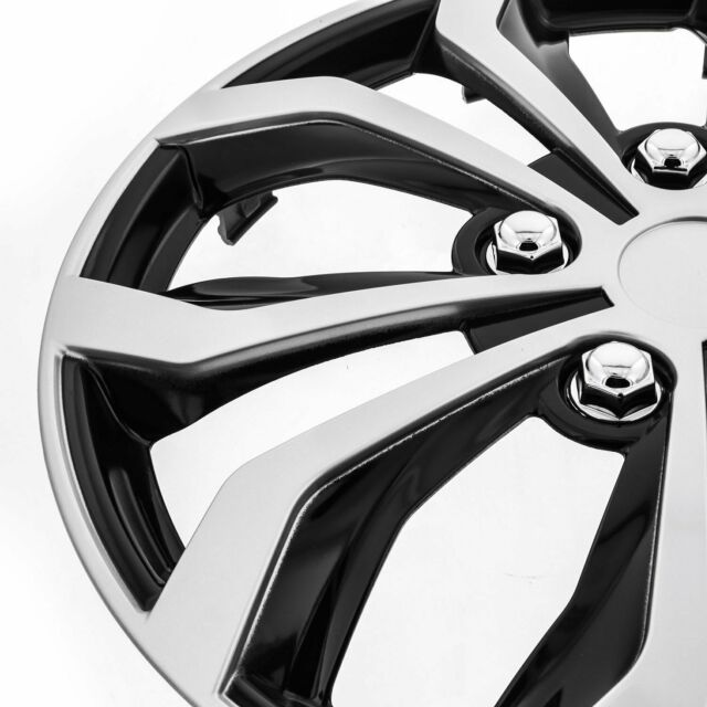 """[Set Of 4] Acura 16"""" Spyder Snap/Clip-on Wheel Covers"""
