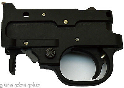 Ruger 10/22 Complete Trigger Housing Group Assembly BLACK 1022 SR 22