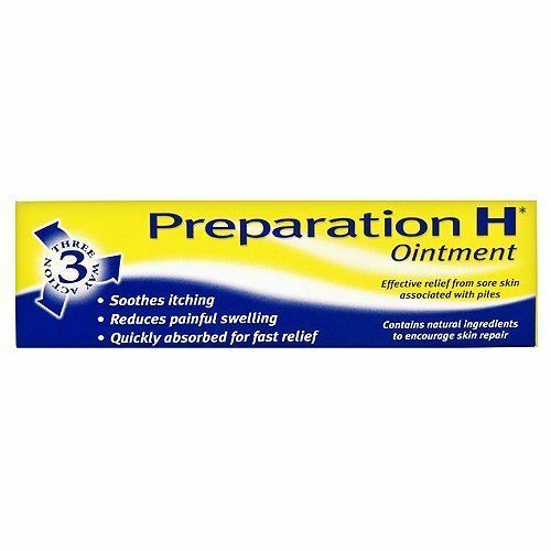 Preparation H Ointment | Soothes | Reduces | | Fast Relief 25g