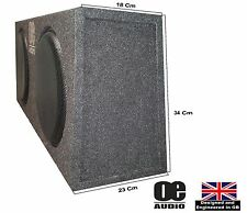 """Double 10"""" Subwoofer Slim Shallow Active Bassbox for MPV Built in Amplifier"""
