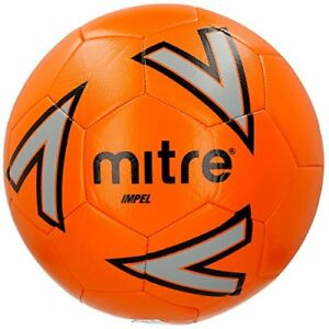 Mitre Impel Training Football Without Ball Pump Yellow Size 4