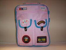 Borsa cartella zaino da scuola vintage Banza For Unival bimba bambina bag rosa